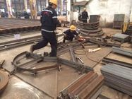 U Channel Green Workshop Steel Structures For Railway Station