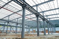C Section Large Span Steel Structures , Pre Engineered Steel Structures