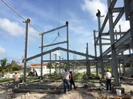 Agricultural Steel Framed Buildings , C Section Steel Structure Shed
