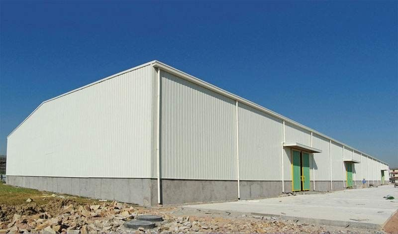 Recyclable Q355 Steel Structure Warehouse For Fruit / Vegetable Storage